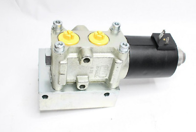 Roquet 6VAS1012LPSD007 6-Way 12 VDC Hydraulic Changeover Valve & Block