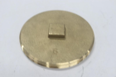 """Qty 5 - Brass End Caps 6"""""""