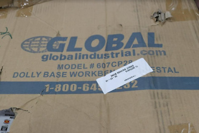 Global Industrial 607CP28 Dolly Base Premium Pedestal