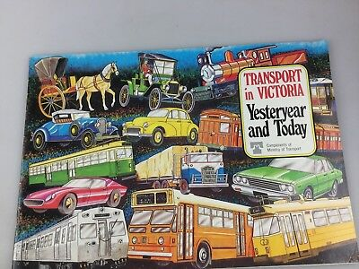 Transport In Victoria - Yesteryear And Today - 1979 - Brochure