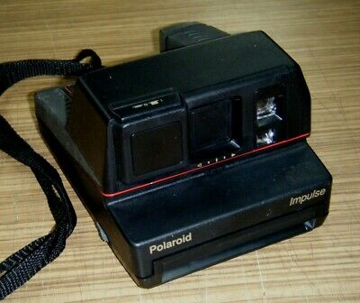 Vintage Instant Film Camera - Polaroid Impulse 600 Plus