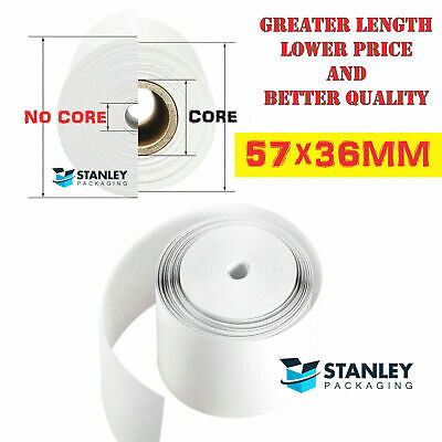 57x36mm Eftpos Rolls Thermal Paper Cash Register Receipt 20/100/200/400/500rolls