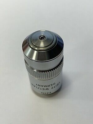 Leitz NPL FLUOTAR 100x 1.32NA 160/0.17 Oil Immersion Microscope Objective Lens