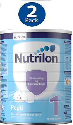 2 X Nutrilon 1 PEPTI COW MILK ALLERGY for 0-6 MONTHS :: NUTRICIA DUTCH PRODUCT