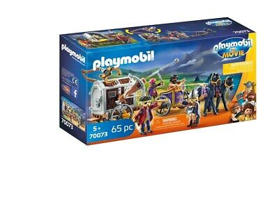 Playmobil: The Movie Charlie with Prison Wagon [Toy]