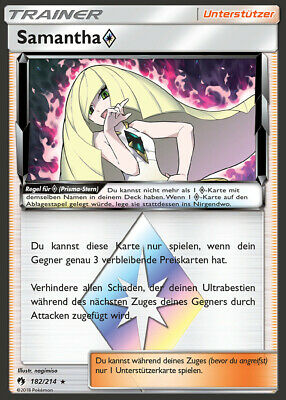 Prisma Rare Donnerberg Echo Des Donners 191//214 DE! Pokemon! Near Mint