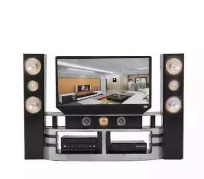 1:12th Miniature Doll House Accessories TV with Sorround System