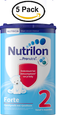 5 X Nutrilon 2 FORTE   FOLLOW ON MILK :: for 6 Mths Up :: NUTRICIA DUTCH PRODUCT