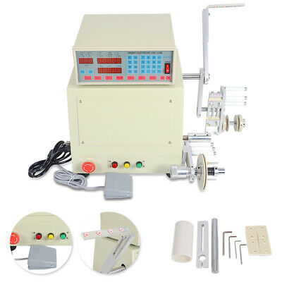 NEW Computer CNC Automatic Coil Winder Winding Machine 100MM Max Diameter