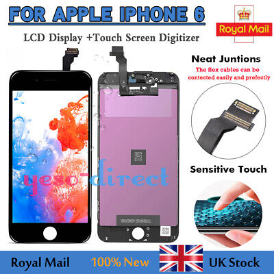 LCD Screen For iPhone 6 Touch Replacement Display Digitizer Replacement Black