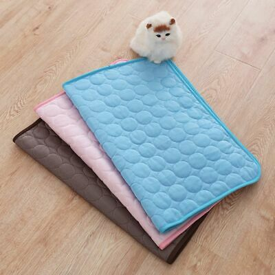 1pc Summer Cooling Pet Mat Cushion Blankets Comfortable Cushion for Dog Cat