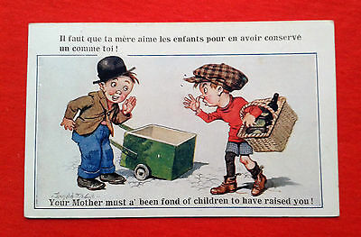 CPA Enfants / Humour / Donald Mc Gill