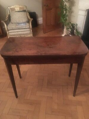 Original Georgian Card Table
