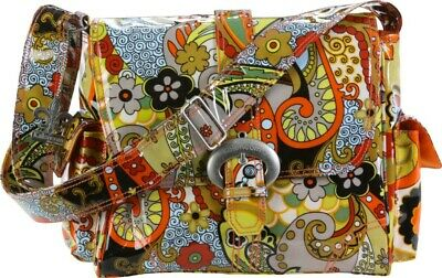 Kalencom Midi Buckle Changing Bag - Hannah Paisley