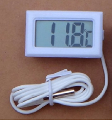 DIGITAL VIVARIUM THERMOMETER for SNAKES LIZARDS SPIDERS and REPTILES WITH PROBE
