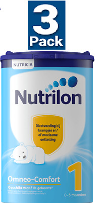 3 x Nutrilon 1 OMNEO-COMFORT for Cramps & Obstipation   0 Mths & Up : NUTRICIA