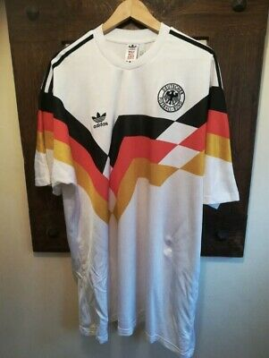 West Germany 1990 World Cup adidas Home Shirt XL