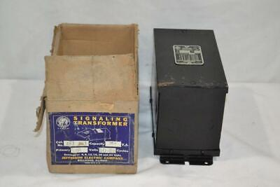 Jefferson Electric Signaling Transformer # 231-341  NEVER USED