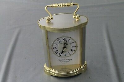 ce English Finery Collection small mantle battery Clock