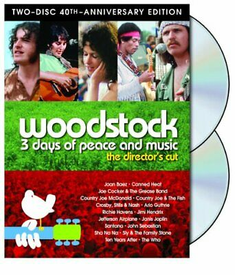 NEW - Woodstock: Three Days of Peace & Music