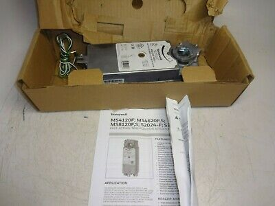 Honeywell Ms4120F1006 Fast Acting Damper Actuator