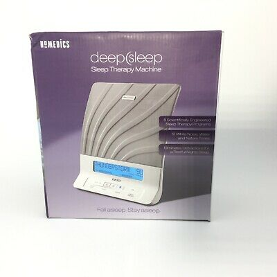 Homedics HDS2000 Deep Sleep Relaxation Sound White Noise Machine Therapy New