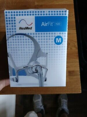 AirFit N20 Nasal CPAP Mask with Headgear from ResMed Size Medium