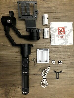 Used Zhiyun Crane V2 3-axis Gimbal Stabilizer for Mirrorless Camera
