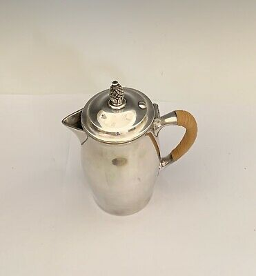 Reed & Barton #12 Paul Revere Silver Plate Syrup Jug / Lidded Pitcher