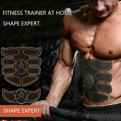 Ultimate EMS AB & Arms Muscle Simulator ABS Training Home Abdominal Trainer GW