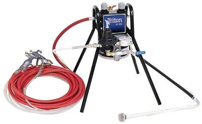 GRACO 233477 Triton Alum Pump Package with AirPro HVLP Spray Gun, Stand Mount