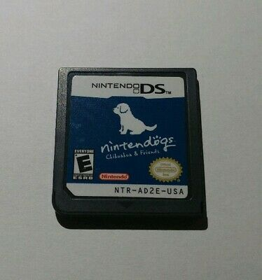 Nintendo Ds Nintendogs Chihuahua & Friends Game
