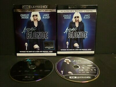 Atomic Blonde (4K Ultra HD Blu-ray, 2017, Includes Digital Copy 4K Ultra HD)
