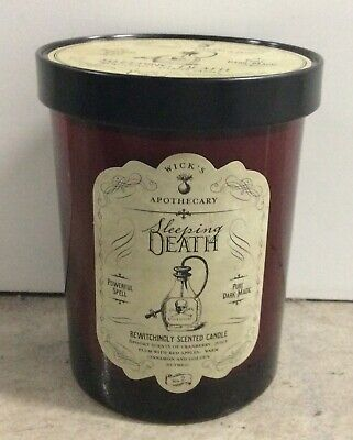 Haven St. Dw Home Wicks Apothecary Sleeping Death Candle Halloween