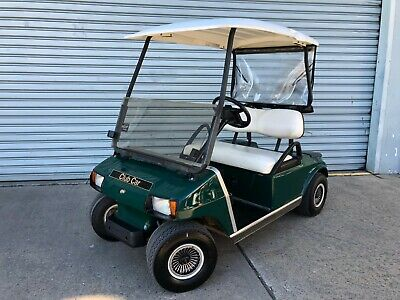 Club Car DS Golf Cart Buggy Buggie Electric TROJAN Batteries with Charger