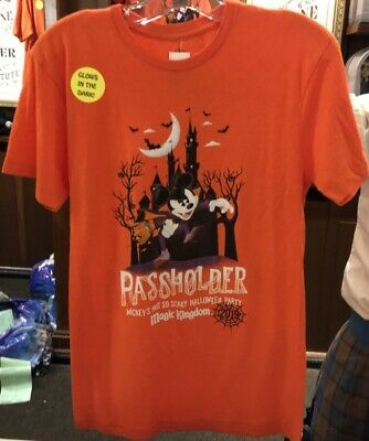 2019 Mickey's Not So Scary Halloween Party PASSHOLDER T-Shirt S M L XL XXL 3XL