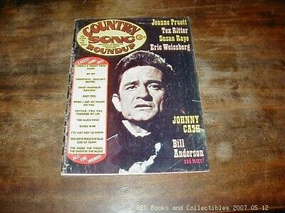 Country Song Roundup Jun 1974 Johnny Cash Cover Jeanne Pruitt FREE US SHIPPING