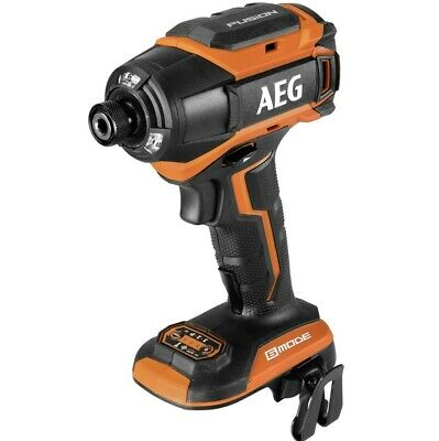 AEG 18V FUSION Brushless 6 Mode Impact Driver (Touch) Massive 280Nm Torque NEW