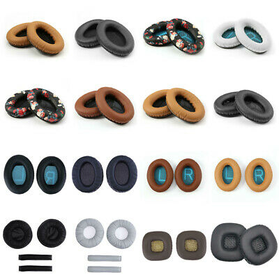 2pc L/R Ear Pad Cushion For Bose Quiet Comfort 2 QC2 QC15 QC25 AE2 Headphone LOT