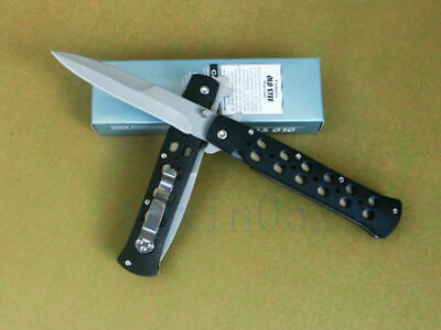 Folding Tactical Knife EDC Tool Blade Survival Rescue Camping Hunting Saber Gift