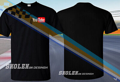 New Popular 2019 Youtube Logo Left Edition T-Shirt All Size Color