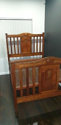 Antique Bebarfalds Double Bed-Pick Up Lake Heights 2502