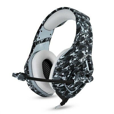 ONIKUMA K1 Mic Stereo Bass Surround Gaming Headset for PC Laptop PS4 Xbox One