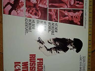 From Russia With Love James Bond 007 Laserdisc LD NTSC Connery