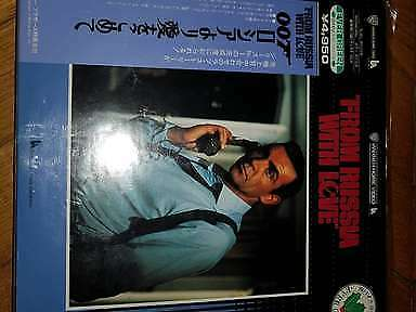 From Russia With Love James Bond 007 Laserdisc LD NTSC JAPAN Connery