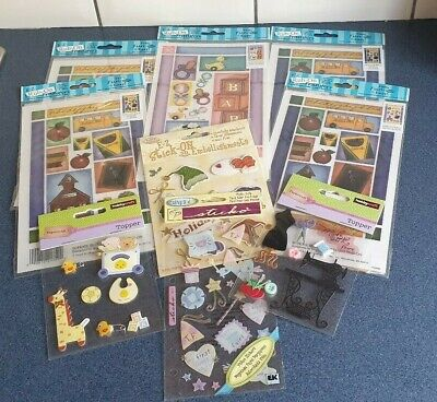 Scrapbook Card Making Toppers Embellishments Rub On Transfers