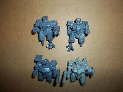 Warhammer 40k Tau Empire XV8 Battlesuits x 4 bits lot  #5