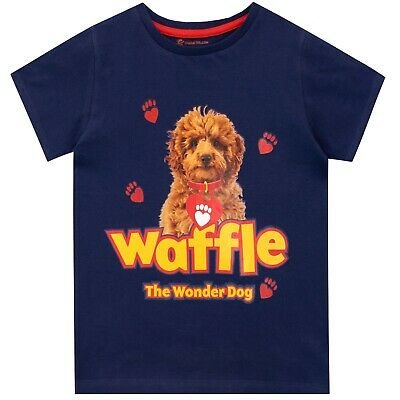 Waffle the Wonder Dog T-Shirt | Girls Waffle Short Sleeve Top