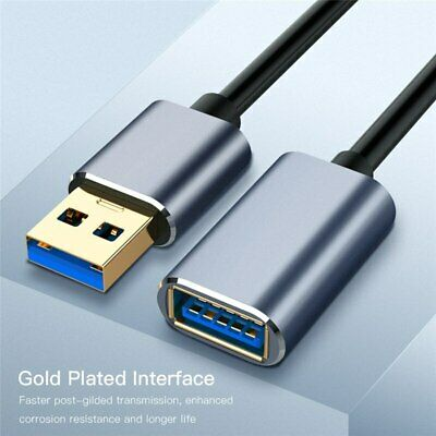USB 3.0 Male to Female SuperSpeed Data Sync Fast Charging Extension Cable