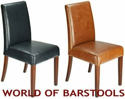 Contemporary Firenze Leather Dining Chair In Four Colours